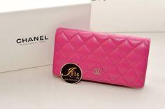 กระเป๋าเงิน Chanel Bi-fold Wallet Pink Caviar ของใหม่พร้อมส่ง‼️ - Iris Shop