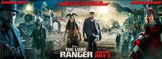 """Disney/Jerry Bruckheimer Films: """"The Lone Ranger"""" New #Trailer Now Available! Movie is in theaters on July 3, 2013 #LoneRanger"""