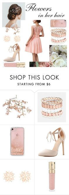 """""""Flowers in her Hair"""" by monique-joanne ❤ liked on Polyvore featuring Canopy Designs, Avenue, Rebecca Minkoff, Charlotte Russe and Smith & Cult"""