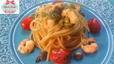 Cozinha Simples da Deia: Spaguetti com tomates grape e camarões