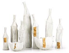 Cartocci Paper Clay Objects by Paola Paronetto in home furnishings art  Category
