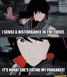 Yeah what is Ren's semblance? He can project his aura well but that can't be it. Nora said in volume 3 episode 1 that Ren was 'basically a ninja'... So what can we conclude from that? -Erica^^