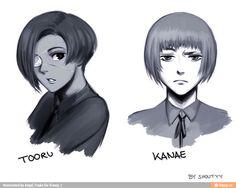 Tooru Kanae hair swap