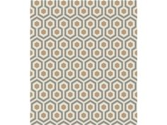 Cole & Son HICKS HEXAGON GOLD/TAUPE 95/3017.CS - Kravet-edesigntrade - New York, NY, 95/3017.CS,Lee Jofa,Yellow, Brown,Yellow, Brown,Up The Bolt,United Kingdom,Yes,Cole & Son,No,HICKS HEXAGON GOLD/TAUPE