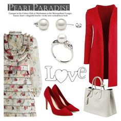 """Love by Pearl Paradise"" by pearlparadise ❤ liked on Polyvore featuring Prada, women's clothing, women, female, woman, misses and juniors"