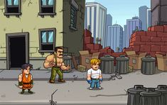 FinalFight-Remake by DerekLaufman.deviantart.com on @deviantART