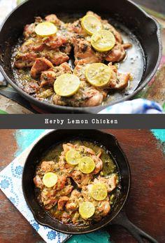 Herby Lemon Chicken