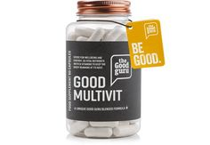 """The word vitamin comes from Vita, the Latin word for life. For thousands of years it's been understood that certain nutrients are what the World Health Organisation has called """"magic wands"""" for the body.  The Good Guru unique Multivitamin and mineral formula has been designed to promote overall health and wellbeing."""