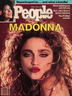 29 years ago today, Madonna graced the cover of People Magazine for the very first time.