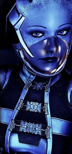 Mass Effect's Liara T'Soni