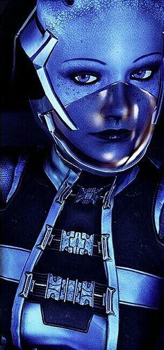Mass Effect's Liara T'Soni