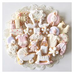 アイシングクッキーBaby#icingcookie#sugarcookie #icingcookies#sugarcookies #decoratedcookies #customcookies #babygift#babygirl #出産祝い