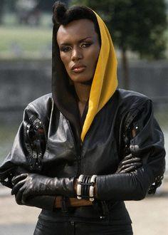 007 #15 1985 ••A View to a Kill poster•• BondGirl 15: Grace Jones (Jamaica; b. 1948 May19) (other BG: Tanya Roberts; US; from 1984 Sheena • Bond: Roger Moore (7th) • imdb: http://www.imdb.com/name/nm0005063/?ref_=tt_cl_t4 • wiki: http://en.wikipedia.org/wiki/Grace_Joneshttp://en.wikipedia.org/wiki/Tanya_Roberts