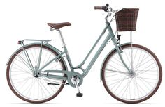This stunning ladies bike from Giant is bound to turn a gentleman's head! Ross Cycles - Flourish 1 Grayish Green, (http://www.rosscycles.com/giant-bikes-flourish-1-grayish-green/)