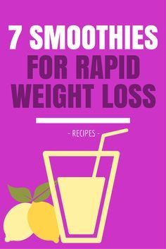 7 Awesome Smoothie Recipes For Rapid Weight Loss #weightloss #diet http://www.youtube.com/watch?v=cJFLaMG7Aak