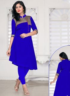 Surpassing Banglori Silk Casual Kurti