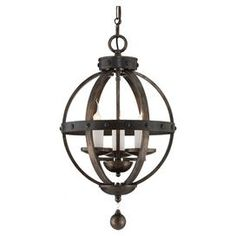 Joss and Main:  Lowry 3-Light Pendant for staircase.
