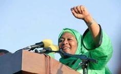 Samia Suluhu Hassan, 55, was announced Vice President of Tanzania in the 2015 General Elections, alongside Tanzania's ruling party candidate John Magufuli. Suluhu is married to Hafidh Ameir and they