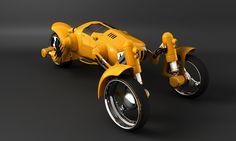 ZAMAK sort of #trike, 3 wheel car