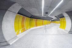 Gallery - Budapest Underground Line M4 - Kálvin tér Station / PALATIUM Studio - 4