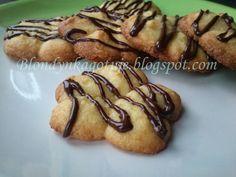 Blondynka Gotuje: Pomarańczowe Ciasteczka z Kaszą Manną