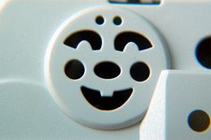 Smiling face in objects