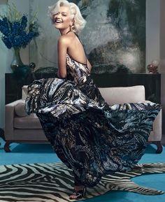 Rita Ora Roberto Cavalli Fall 2014 Campaign