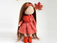Текстильная кукла от макушки до пяточек | Ярмарка Мастеров - ручная работа, handmade