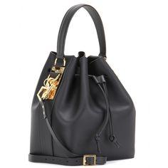 Leather Bucket Bag ∇ Sophie Hulme