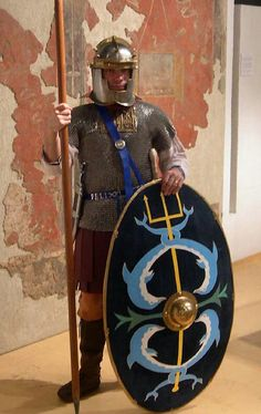 Roman naval infantryman (milites classiarius), III. century AD.