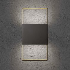 The Up Down Outdoor LED Wall Sconce Illuminates From Every Side, Both Up  And Down