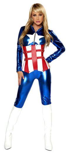 American Hero Costume RM4345 Sexy Superhero Costumes