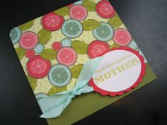 Handmade Mother's Day Card by apaperaffaire on Etsy