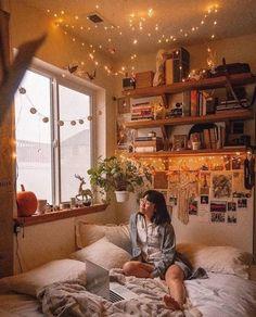 Room Ideas Bedroom, Diy Bedroom Decor, Warm Bedroom, Bedroom Storage, Modern Bedroom, Decor Diy, Contemporary Bedroom, Decor Room, Bed Room