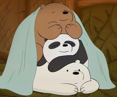 We bare bears grizz panda and icebear