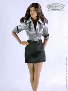 Compatible for 1/6 Scale TBLeague, Phicen, Hot Toys & Jiaou Female Action Figure Bodies - Available Now! Beer Maid, Female Head, Navy Skirt, Satin Shirt, Lace Romper, Plaid Skirts, Black Lingerie, Black Shorts, Short Skirts