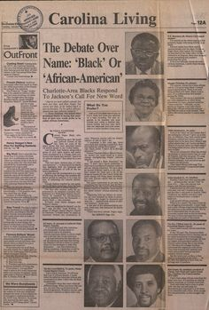 From The Charlotte Observer, 1989. Office for Equal Opportunity & Equity Records, Box 9, Folder 4, ua005_009-001-bx0009-004-000_0077