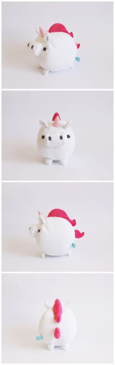 unicorn plush pattern - Google Search Sewing Toys, Sewing Crafts, Sewing Projects, Felt Crafts, Diy And Crafts, Arts And Crafts, Softies, Plushies, Kawaii Diy