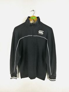 CANTERBURY All Blacks Sweaters Medium Steinlager Jonah Lomu Canterbury Rugby Football Sweatshirts New Zealand Pullover Size M by CaptClothingVintage on Etsy Canterbury New Zealand, Jonah Lomu, All Blacks, Girl Cartoon, Hippie Style, Black Sweaters, Leather Jacket, Pullover