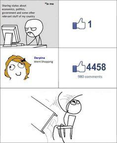 Funny Rage Comics  Facebook Meme