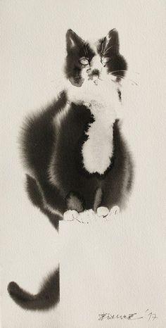 Ink, 55x28 cm