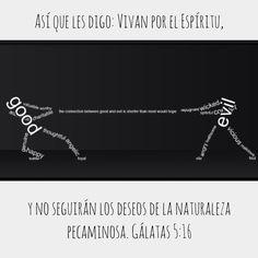 Gálatas 5:16 #NaturalezaPecaminosa vs #NuevaNaturaleza #FuerzasOpuestas. ¿Cuál alimentas? #WalkByTheSpirit Diamond, Jewelry, Strength, Dios, Messages, Jewlery, Jewerly, Schmuck, Diamonds