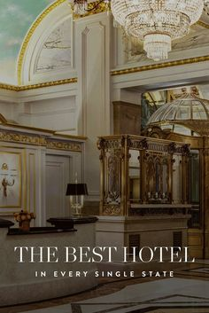 The Best Hotel in Every Single State via @PureWow