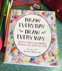 Treated myself to this fabulous Jennifer Orkin Lewis book today..sometimes a blank sketchbook is too daunting!