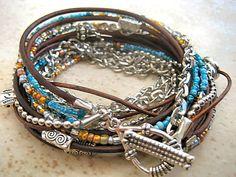 Love this bracelet - colors !