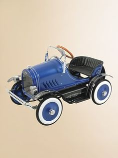 *ANTIQUE PEDAL CAR ~ Dexton Kids - Deluxe Roadster Pedal Car/Blue - Saks.com