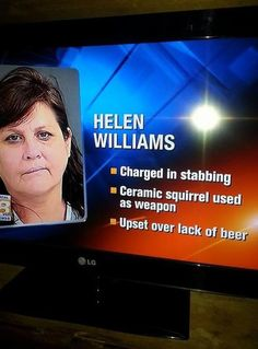 She Stabbed Her Husband Over Christmas Beer With A Squirrel? - NoWayGirl