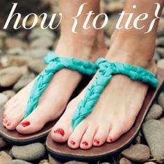 How to tie your Ssekos.