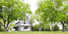 Modern farm house - nice exterior color