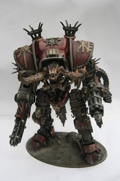 Faeit 212: Warhammer 40k News and Rumors: What's On Your Table: Kytan Daemon Engine